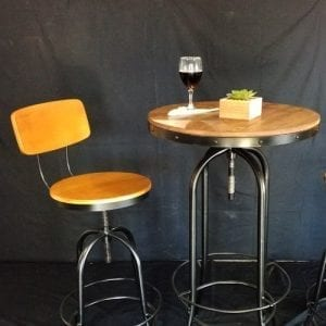 Avery Steel Bar Table