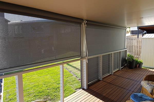 Outdoor Screens & Blinds